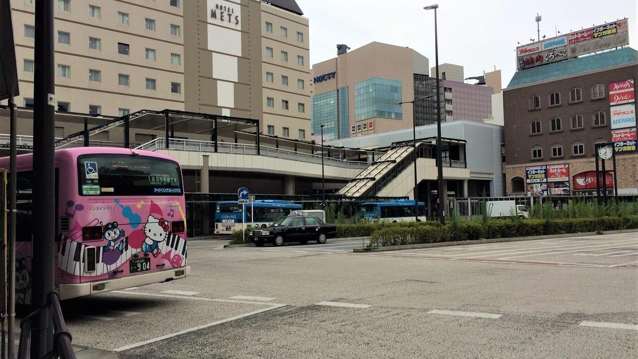 溝の口駅南口バスターミナル