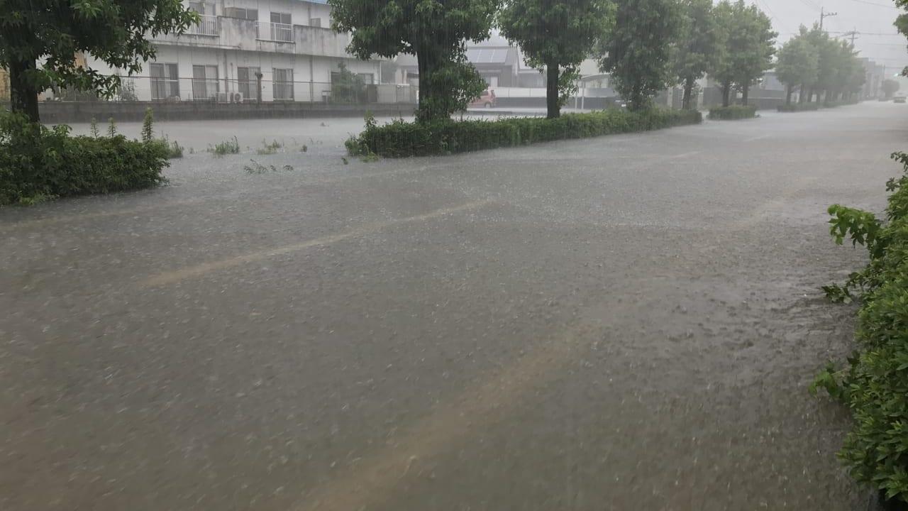 高津区浸水